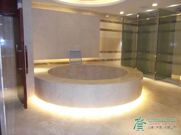烟台喜来登酒店的spa中心设备是我公司